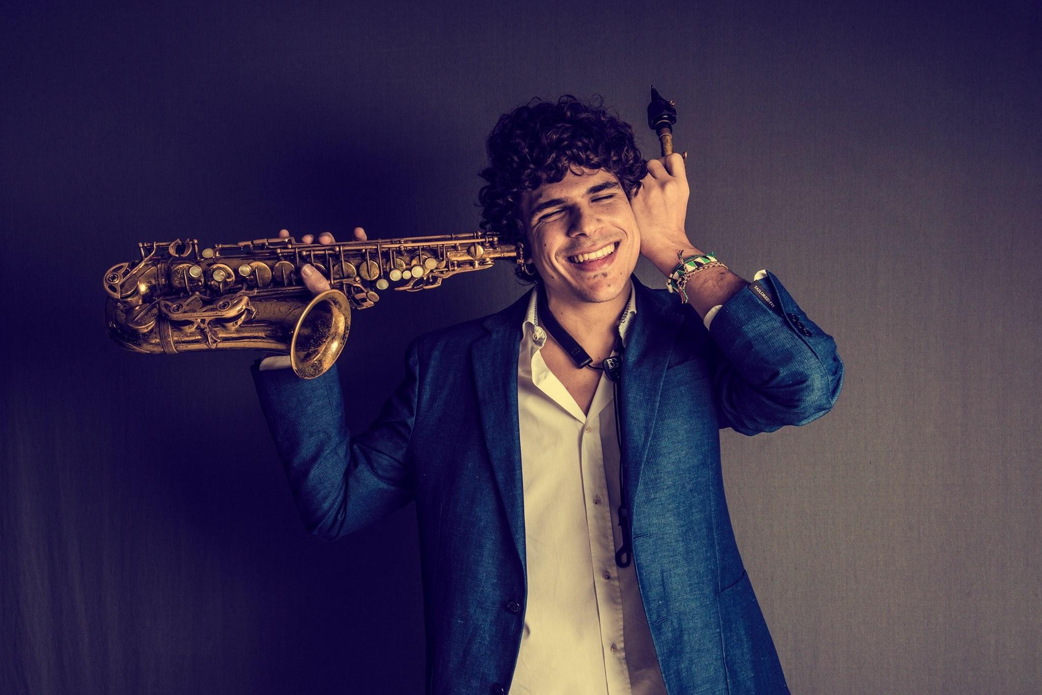 Antonio Lizana, saxofonista, cantaor y compositor, actúa esta noche en el Badejazz