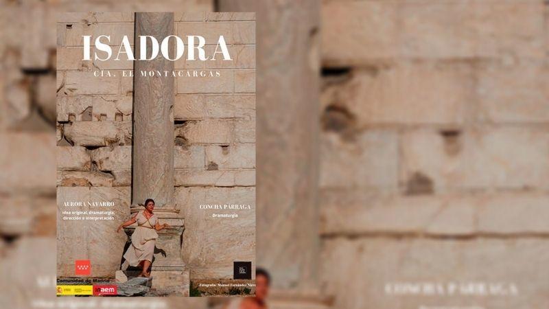 Aurora Navarro interpreta a Isadora Duncan en Isadora