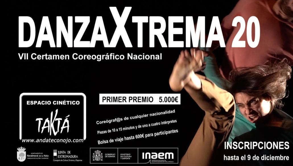 El domingo se celebra DanzaXtrema20 con las mejores propuestas de danza contemporánea