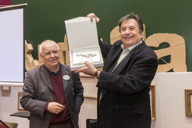 Gonzalo Hidalgo Bayal y Luis Landero: sobre libros y otras cosas