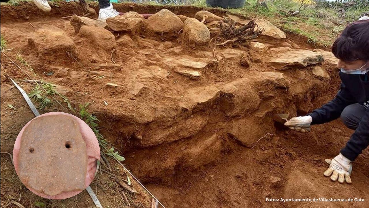 Hallan restos de metales en el yacimiento calcolítico de Sierra de Gata