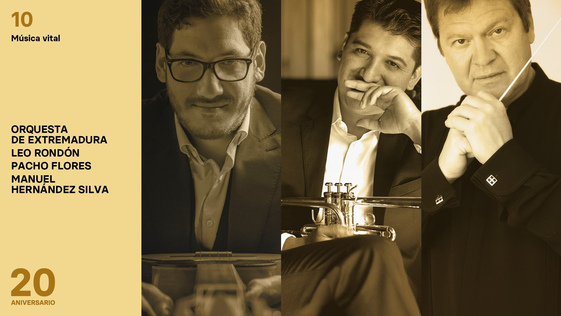 Pacho Flores, uno de los mejores trompetistas del mundo, debuta con la OEX