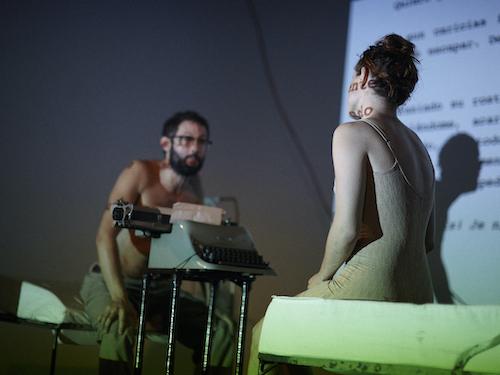 Taktá retoma su programación con una obra sobre Anaïs Nin y Henry Miller
