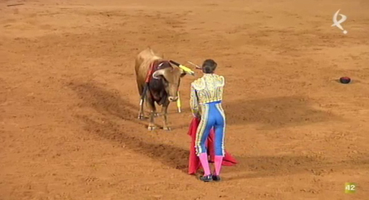 III Certamen de Clases Prácticas de Tauromaquia de la Diputación de Badajoz desde Olivenza