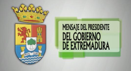 Mensaje del Presidente del Gobierno de Extremadura 2012