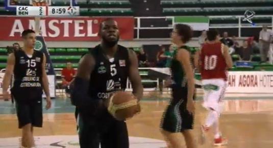 Baloncesto: Caceres Basket - Benfica