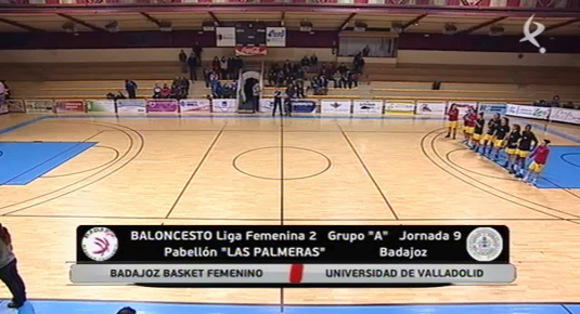 Baloncesto femenino: Badajoz Basket - Universidad de Valladolid