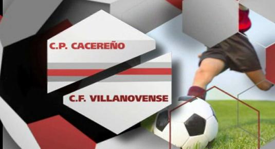 Futbol: Cacereño - Villanovense