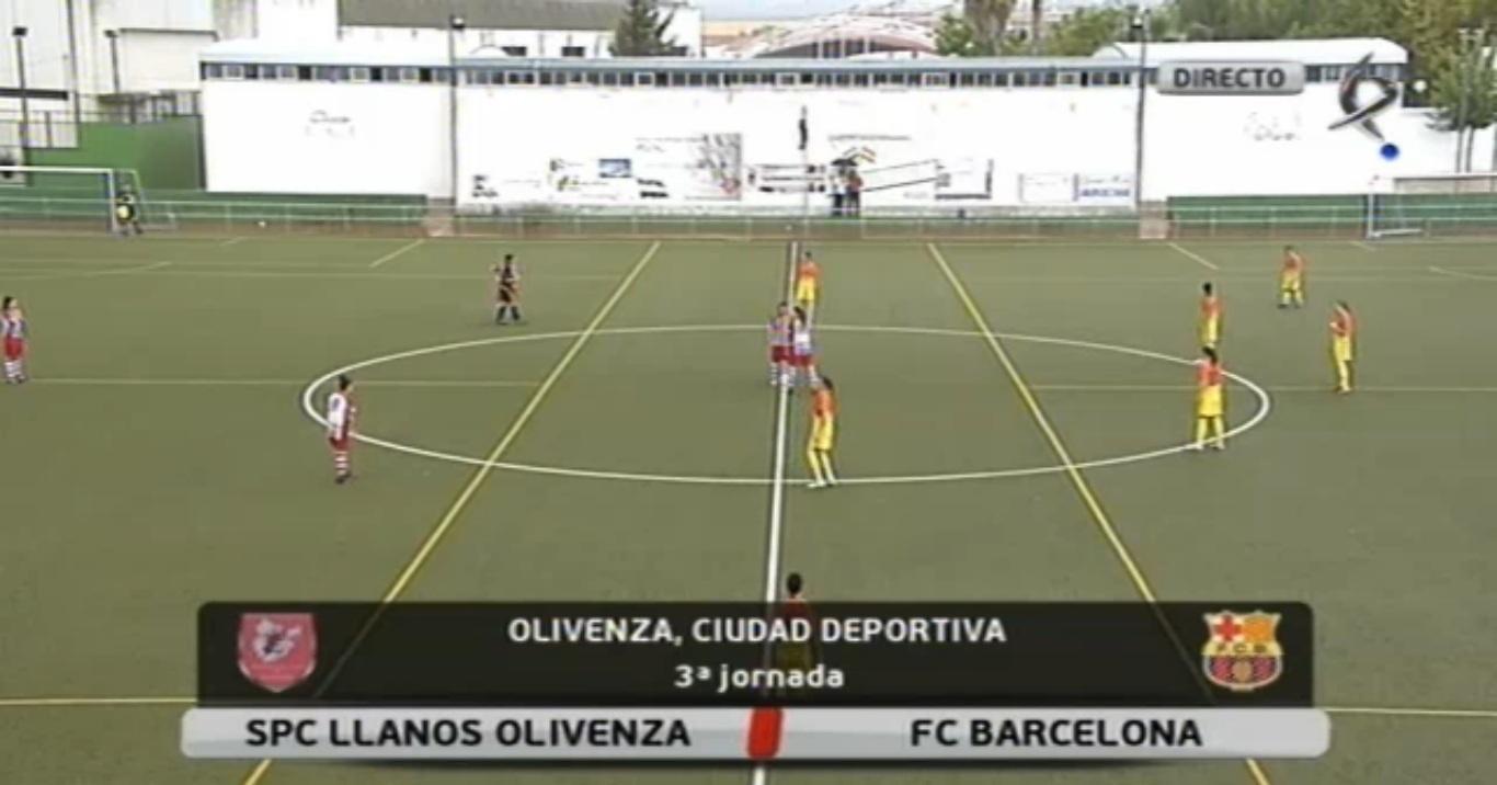Fútbol femenino: Olivenza - Fc Barcelona