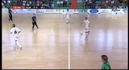 Fútbol sala: A.D, Almendralejo - Olivenza ACVFS