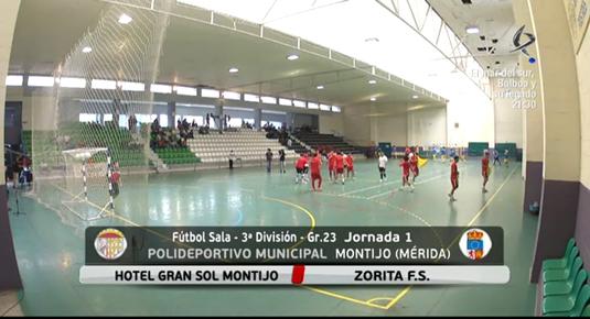 Fútbol Sala: Hotel Gran Sol Montijo - Zorita Fs