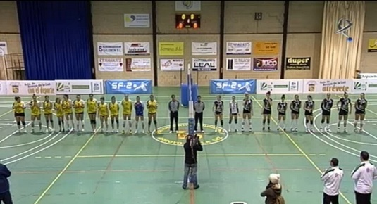 Voleibol femenino: Extremadura Arroyo - Emevé Lugo