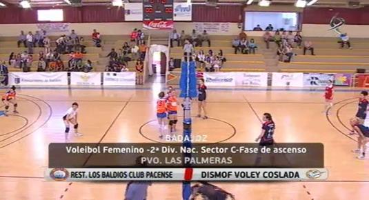 Voleibol femenino: Voleibol pacense - Volei Coslada