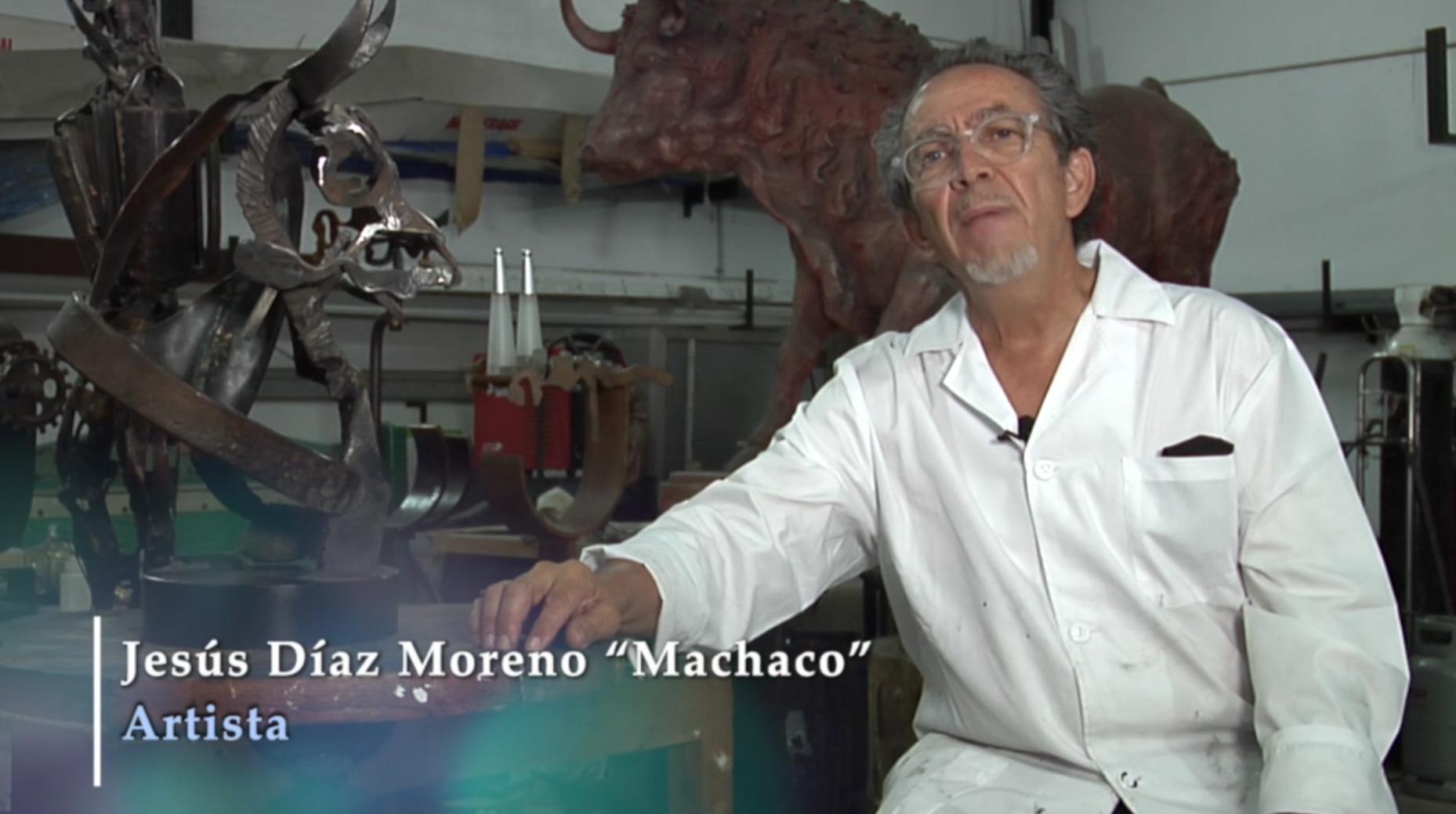 En Coria el artista Machaco, es el protagonista de nuestras Joyas Taurinas