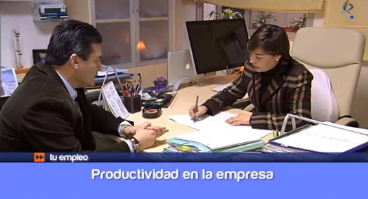 la productividad en la empresa (12/02/14)