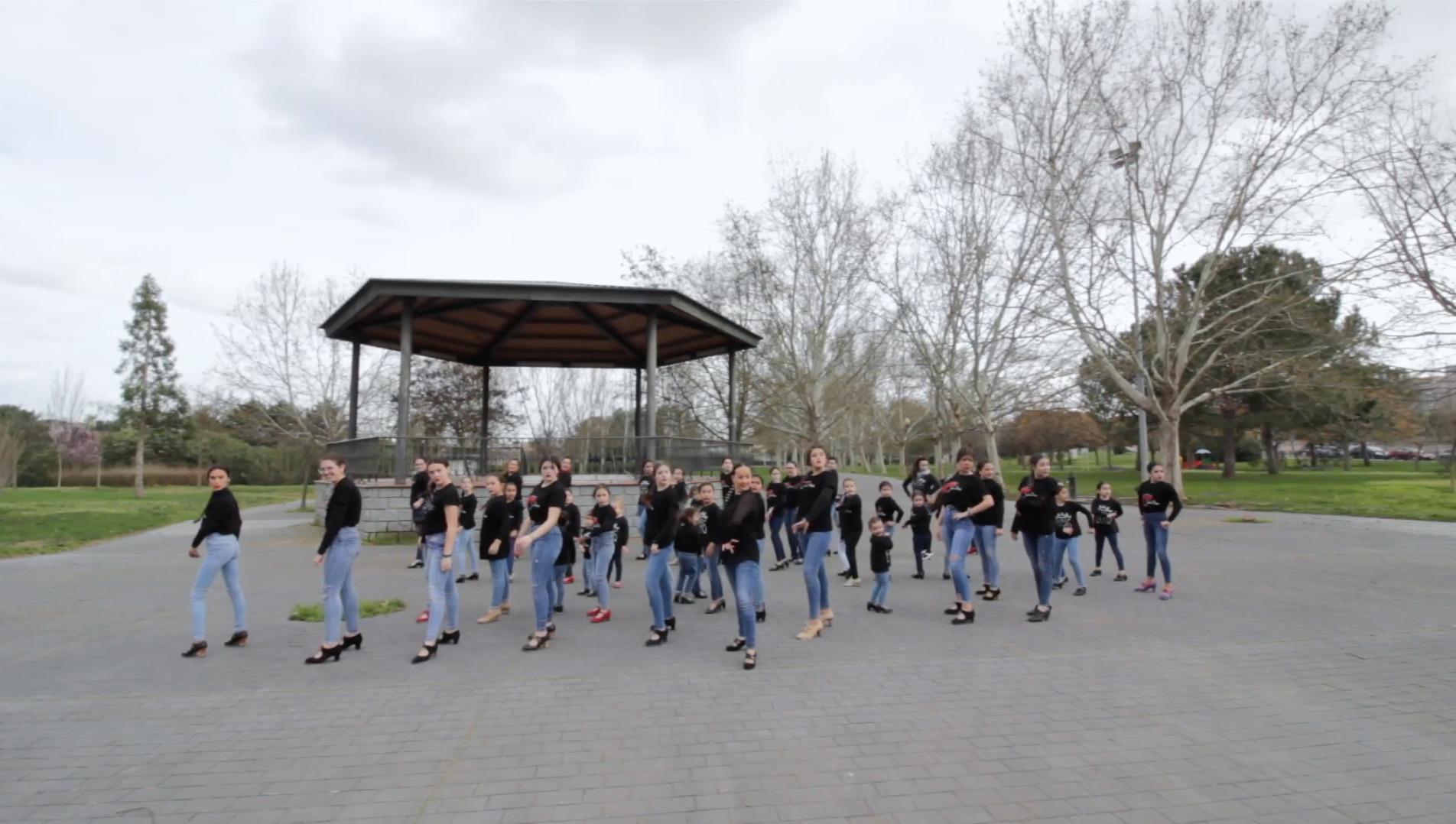 Flashmob flamenco desde Nueva Ciudad