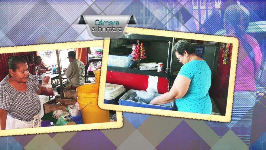 Adultos mayores de Nicaragua buscan su supervivencia a través de trabajos independientes