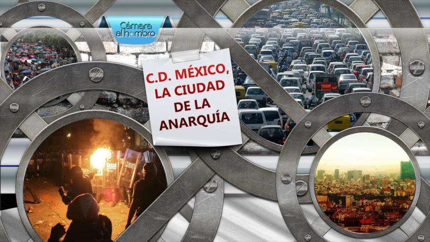 C. D. México, la ciudad de la anarquía