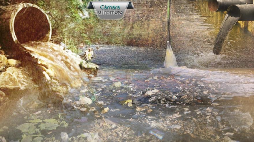 Contaminación del agua en Barrancabermeja