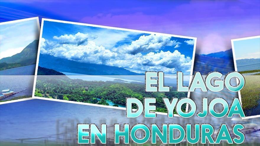 El lago de Yojoa en Honduras