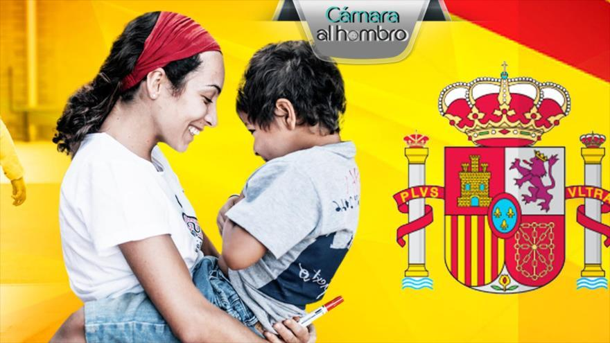Menores tutelados en España