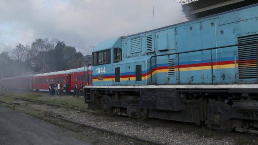 Tren, un medio de transporte desaparecido en Colombia