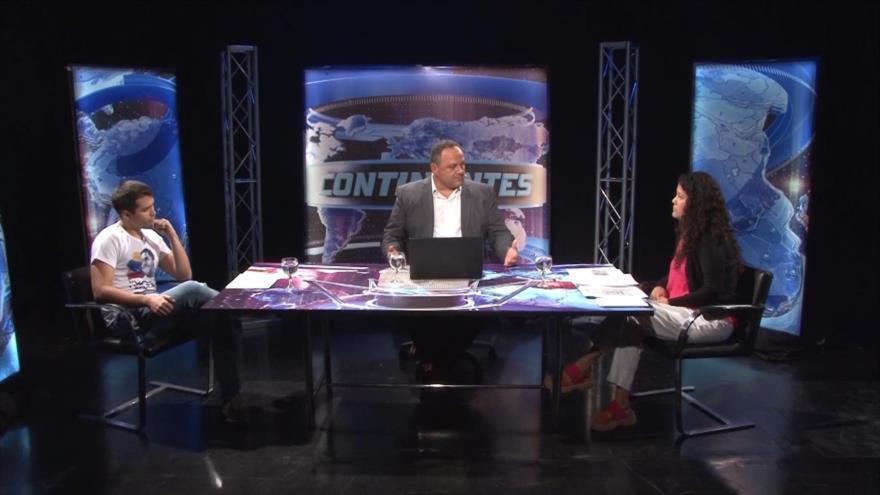 con Dayana López y Emerson Cabaña: Venezuela bloqueo económico y militar