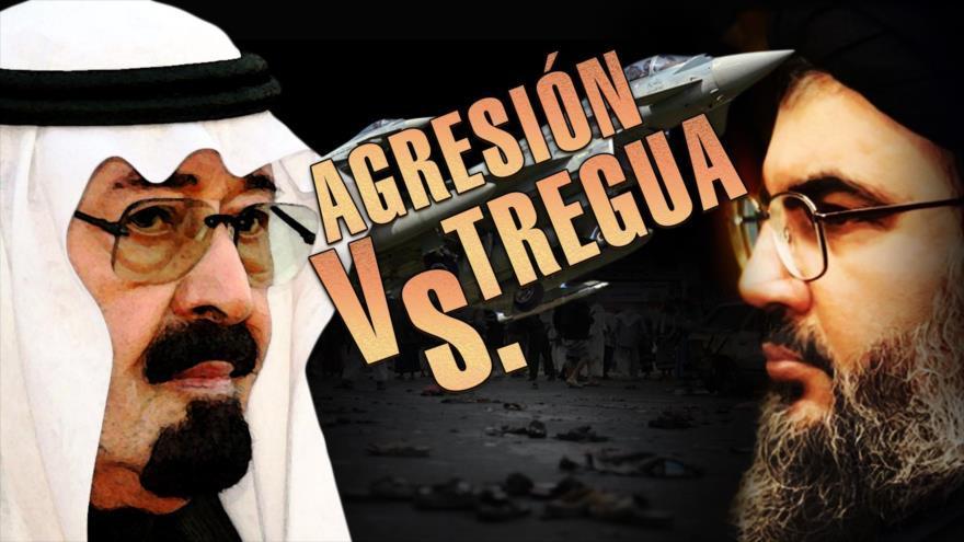 Agresión saudí contra la tregua yemení
