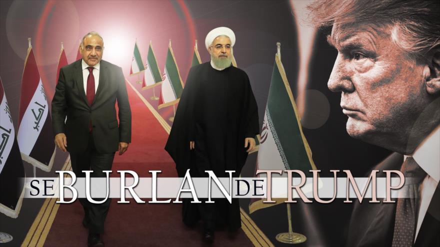 "Alerta ""The Nation"", Trump alista guerra contra Irán, peor que Irak, adonde viajó Rohani"