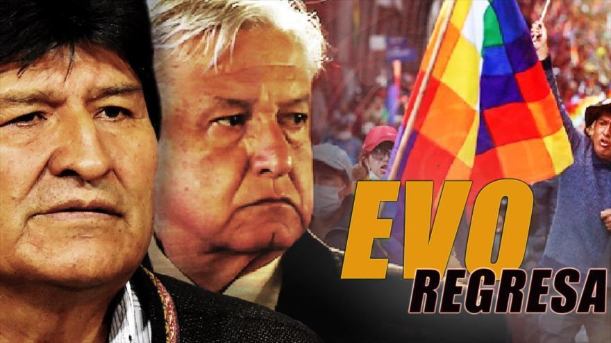 Evo Morales elige a su presidente para regresar a Bolivia