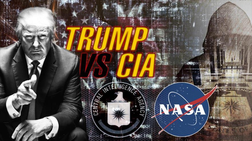 Guerra en EEUU; Trump contra la CIA y FBI por Irán, Rusia y China