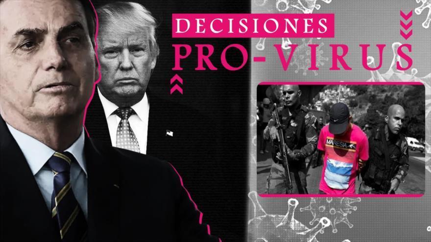 Los brasileños enfrentan la epidemia con un presidente que está contra la cuarentena
