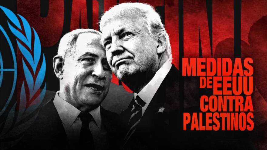 Netanyahu y su 'ficción' arremeten contra refugiados palestinos