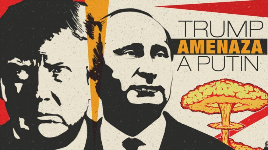 ; Trump amenaza a Putin por matar niños en Siria, pagará caro Rusia e Irán