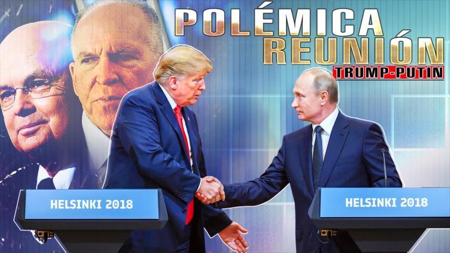 Trump traidor, es agente de Putin, o Rusia cae en la trampa