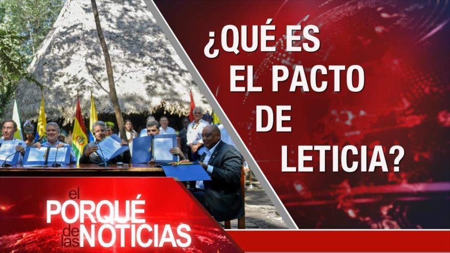Acuerdo del Siglo. Armas ilegales en México. Acuerdo por la Amazonía