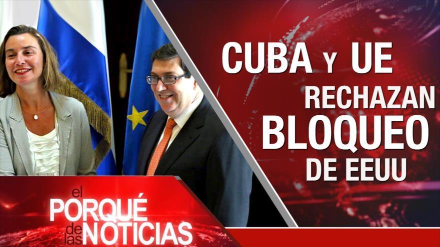 Apoyo militar a Maduro. Bloqueo contra Cuba. Hezbolá en política de El Líbano