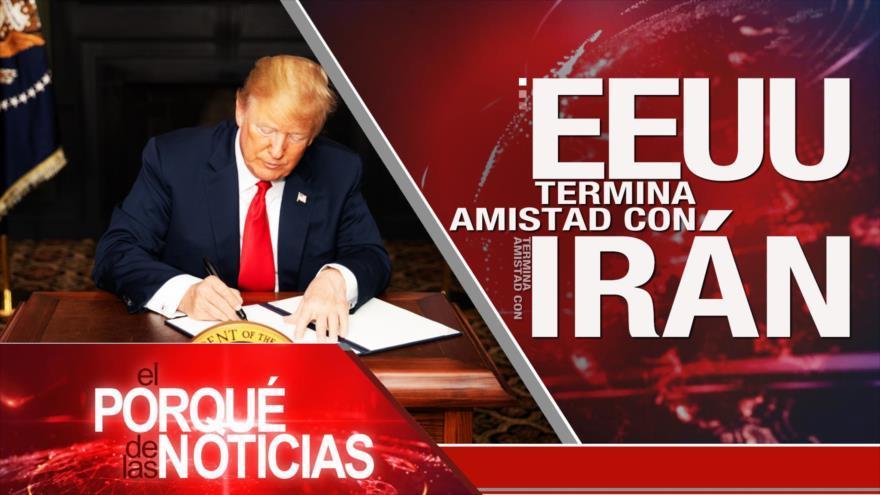 Batalla judicial Irán-EEUU. Incertidumbre por el Brexit. Fujimori sin indulto