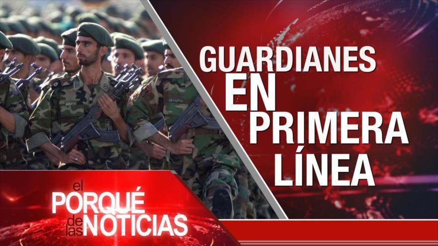 EEUU declara terroristas a CGRI. Violación de derechos de los niños inmigrantes. Relaciones Turquía-Bolivia