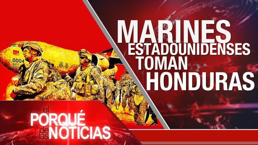 Europa arremete contra EEUU. Yemen contraataca a saudíes. marines EEUU invaden a Honduras