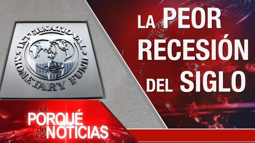 FMI prevé la recesión global. Economía de EEUU. Situación en Guayaquil