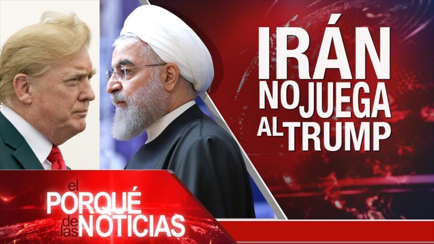Irán rechaza oferta de Trump. Diálogos sobre Siria. Violencia en Nicaragua