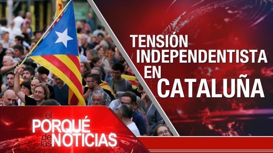 Irán y UEEA. Tensión sobre independentismo catalán. Perú ¿Con dos presidentes?
