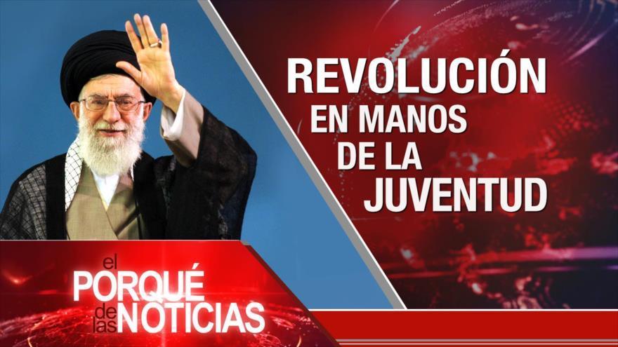 Líder de Irán y la juventud. Crisis en Venezuela. Presupuesto español 2019