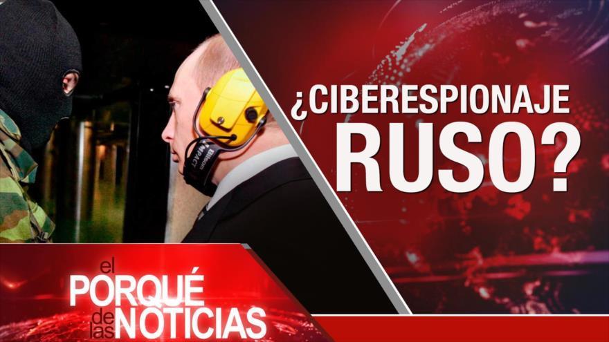 Líder iraní denuncia complots enemigos. Ciberataques de Rusia. Protestas contra Kavanaugh