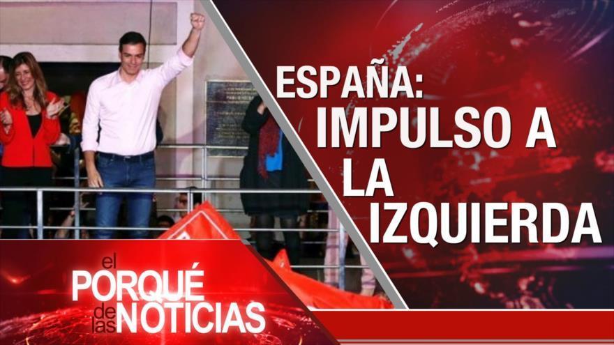 Nuevo gobierno español. Palestina critica a Europa. Pobreza en Argentina