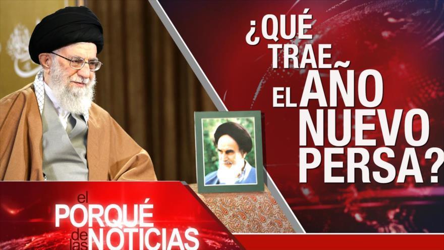 Retos del Año Nuevo persa. Derechos humanos en Venezuela. Tratado de paz espacial
