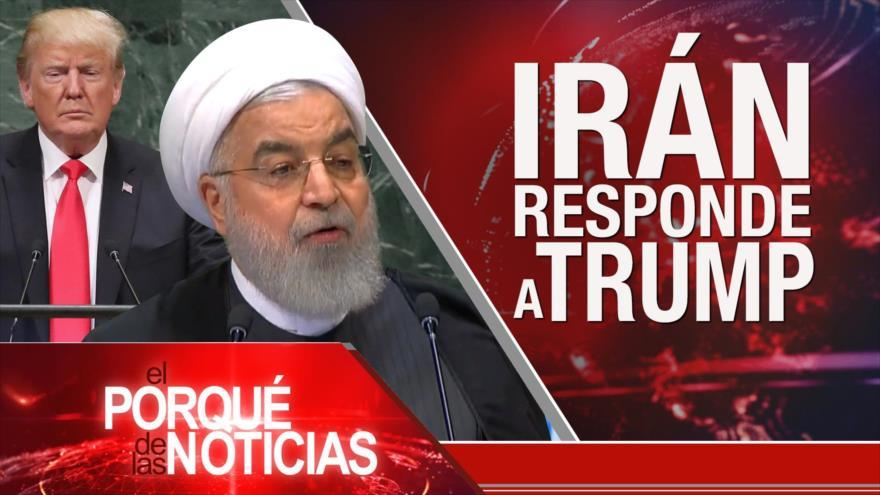 Tensión EEUU e Irán. México y Brasil contra el proteccionismo. Argentina en crisis.