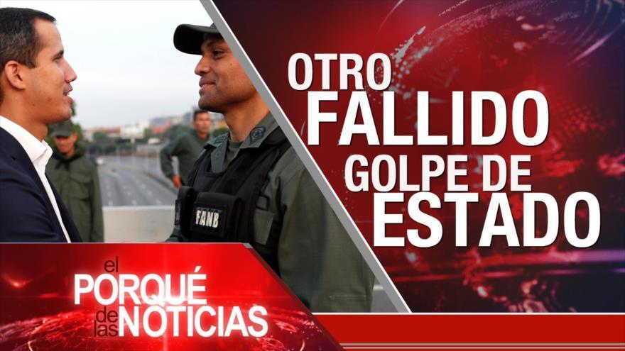Venezuela, otro golpe fallido
