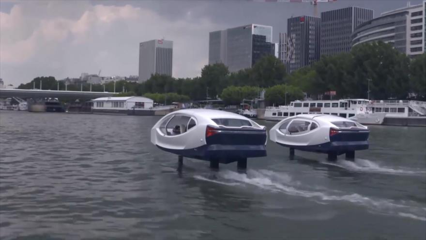 1- Supertierra que alberga agua 2- Burbuja voladora 3- Transporte del futuro de París 4- Gato clonado en China 5- Cigarrillos electrónicos